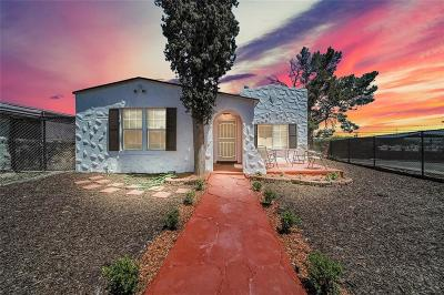 El Paso Single Family Home For Sale: 2400 Grant Avenue