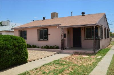 El Paso Single Family Home For Sale: 236 Edith Drive