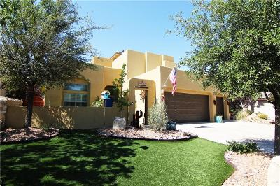 El Paso Single Family Home For Sale: 12200 Sitting Bull Dr.