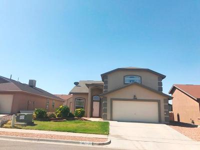 Horizon City Single Family Home For Sale: 13268 Darkshire Court