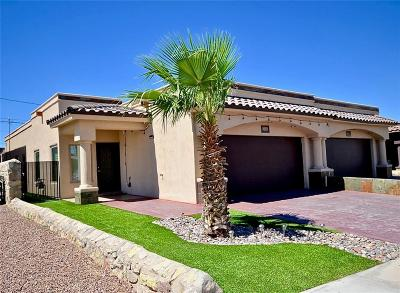 El Paso Single Family Home For Sale: 508 Firstwood #A