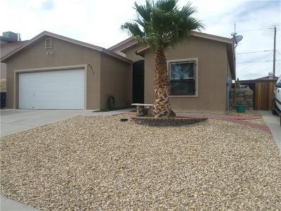 El Paso Single Family Home For Sale: 3917 Stargazer Court