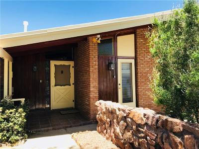 El Paso Single Family Home For Sale: 3017 Mesa Verde Lane