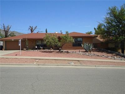 El Paso Single Family Home For Sale: 232 Stratus Road