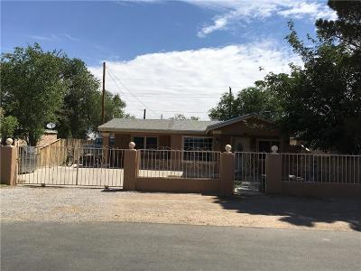 Tornillo Single Family Home For Sale: 19059 Cobb Avenue
