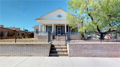 El Paso Single Family Home For Sale: 3225 Fort Boulevard