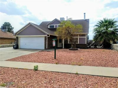 El Paso Single Family Home For Sale: 613 Woodcrest Lane