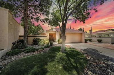 El Paso Single Family Home For Sale: 1101 Los Jardines Circle
