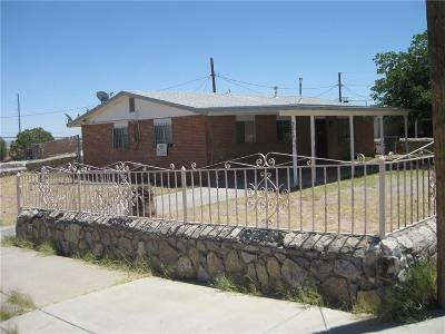 El Paso Single Family Home For Sale: 3812 Moonlight Avenue