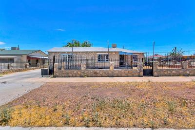 El Paso Single Family Home For Sale: 3100 Sacramento Avenue