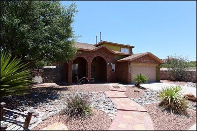 El Paso Single Family Home For Sale: 1228 Vikki Carr Lane
