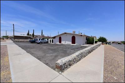 El Paso Multi Family Home For Sale: 3905 Flory Avenue #1
