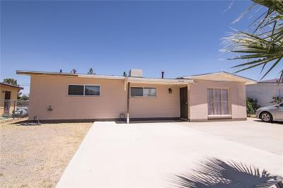 El Paso Single Family Home For Sale: 8504 Mount Scott Drive