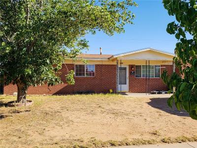 El Paso Single Family Home For Sale: 5624 Tropicana Avenue