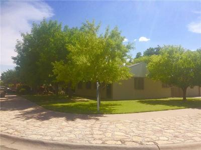 El Paso Single Family Home For Sale: 6300 Saint Lo