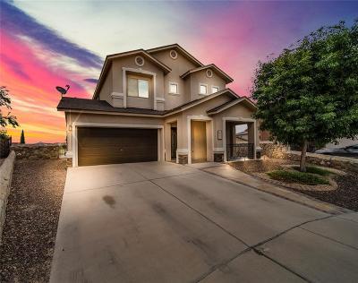 Horizon City Single Family Home For Sale: 344 Emerald Sky Place