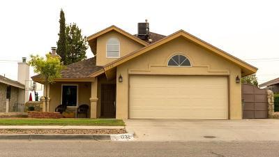 El Paso Single Family Home For Sale: 1732 Gambel Quail Drive