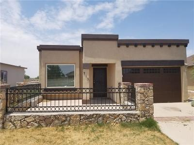 Socorro Single Family Home For Sale: 713 Lt Joe Magallanes Road