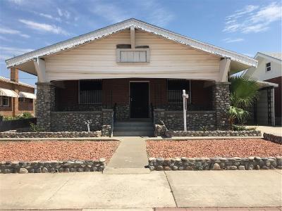 Single Family Home For Sale: 4319 Hueco Avenue