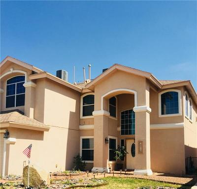 Horizon City Single Family Home For Sale: 13784 Paseo Central Avenue