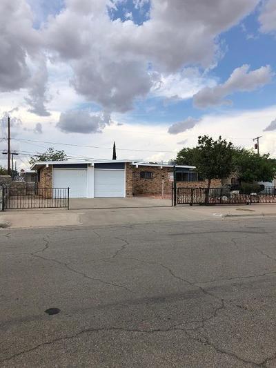 El Paso Single Family Home For Sale: 5205 Chateau Avenue