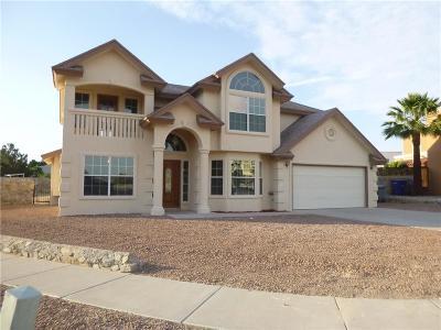 Horizon City Single Family Home For Sale: 1526 Paseo Grande Street