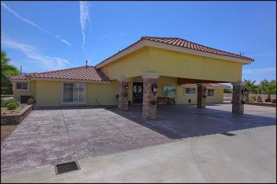 El Paso Single Family Home For Sale: 5908 Upper Valley Road