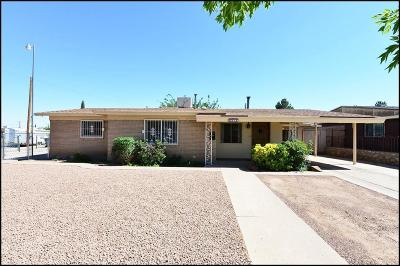 El Paso Single Family Home For Sale: 4918 McGregor Drive