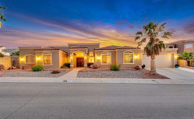 El Paso Single Family Home For Sale: 6361 Calle Placido Drive