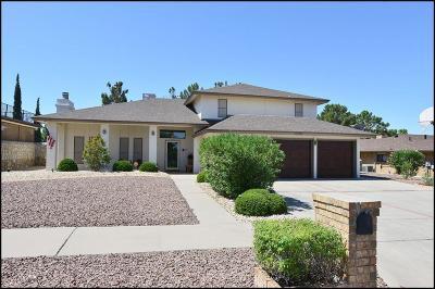 El Paso Single Family Home For Sale: 11700 Casa View Drive