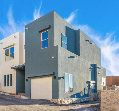 El Paso Single Family Home For Sale: 4000 Camelot Heights #A