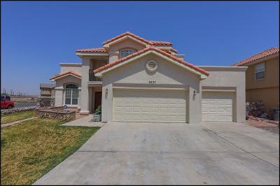 El Paso Single Family Home For Sale: 6237 Viale Lungo Avenue