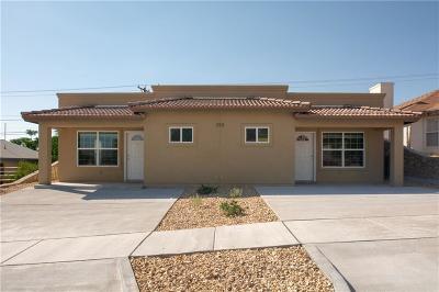 El Paso Multi Family Home For Sale: 233 Atlantic #A,B