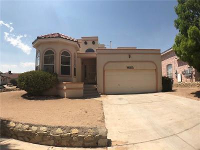 El Paso Single Family Home For Sale: 12644 Sun Terrace Avenue