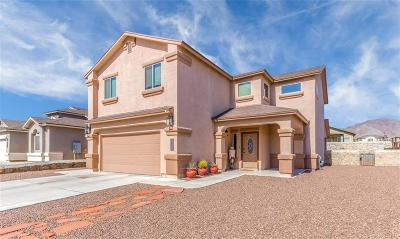 El Paso Single Family Home For Sale: 7636 Crest Creek