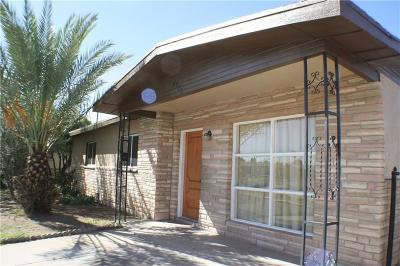 El Paso Single Family Home For Sale: 4803 Guadalupe Drive