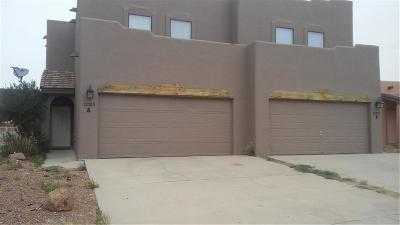 El Paso Multi Family Home For Sale: 12105 Hunter Hill #1,2