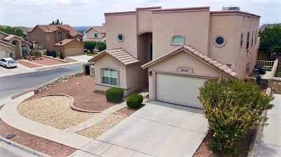 El Paso Single Family Home For Sale: 1625 Monte Del Sol