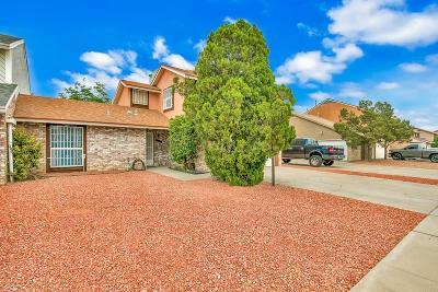 El Paso Single Family Home For Sale: 1916 Bobby Jones