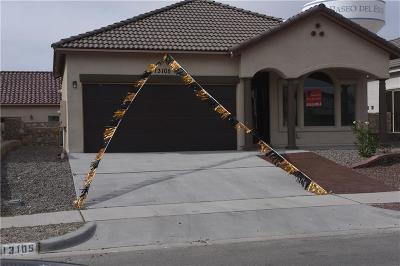 El Paso Single Family Home For Sale: 13105 Wesleyan