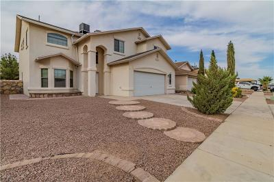 Horizon City Single Family Home For Sale: 13761 Paseo De Vida Drive