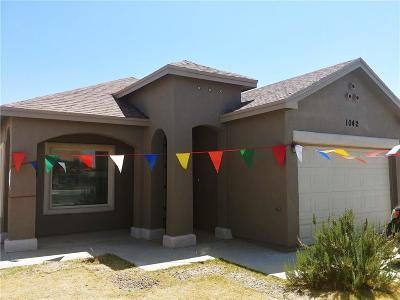 Socorro Single Family Home For Sale: 1042 Chris Forbes