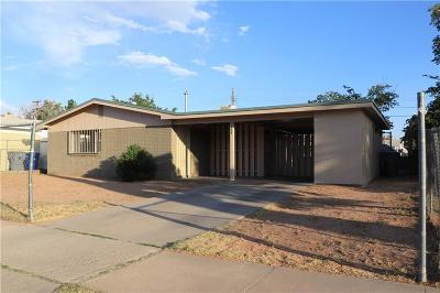 El Paso Single Family Home For Sale: 5828 Macaw Avenue