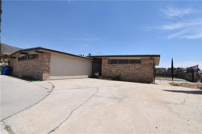 El Paso Single Family Home For Sale: 312 Vaudeville Drive