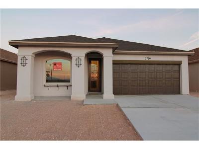 Horizon City Single Family Home For Sale: 13137 Freshford Drive