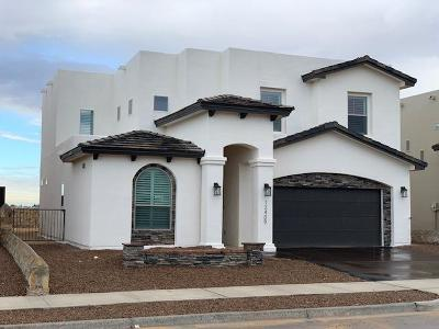 El Paso Single Family Home For Sale: 12409 Triple Crown Ave.