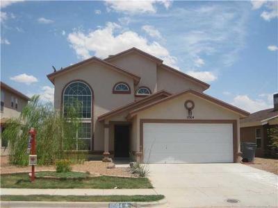 El Paso Single Family Home For Sale: 11504 Lucio Moreno Drive