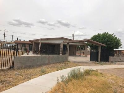 Socorro Single Family Home For Sale: 11556 Philip Drive