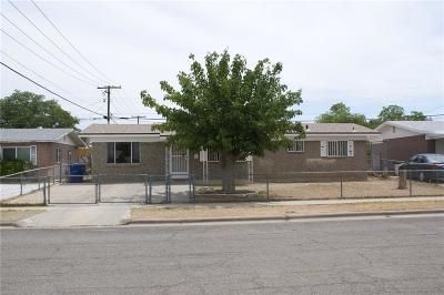 El Paso Single Family Home For Sale: 9228 Montgomery Drive