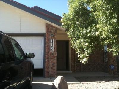 El Paso Single Family Home For Sale: 7760 Waterhouse Drive